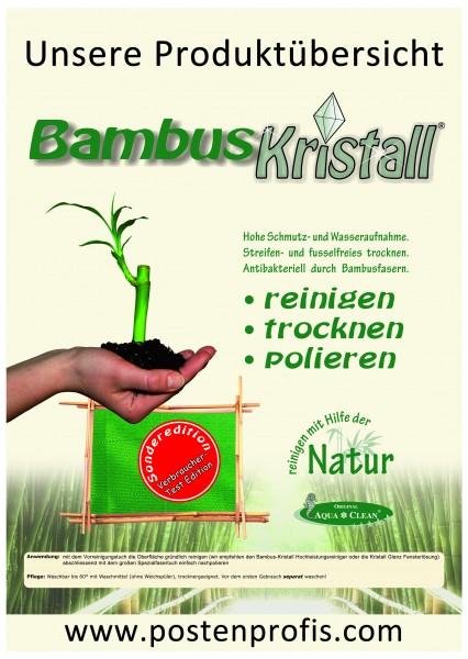 Bambus-Kristall Zufalls-Testprodukt