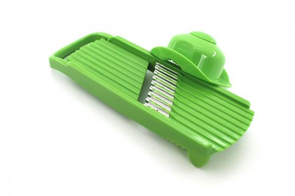 Genius Wellenschnitthobel grün