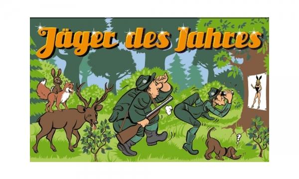 Jäger des Jahres Fahne (V23) - 90x150cm
