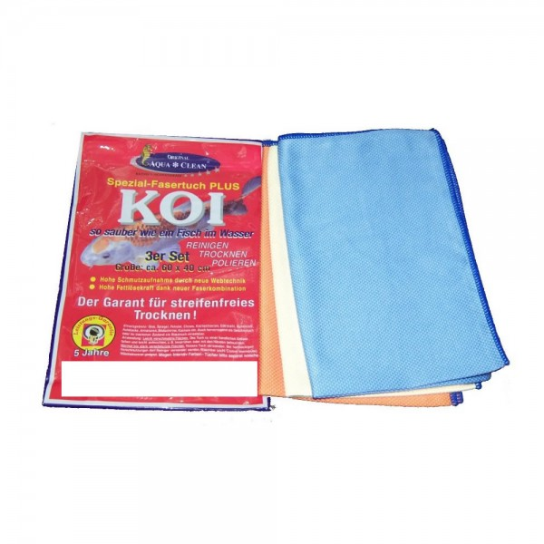 Aqua-Clean KOI Fenstertücher Set 40 x 60