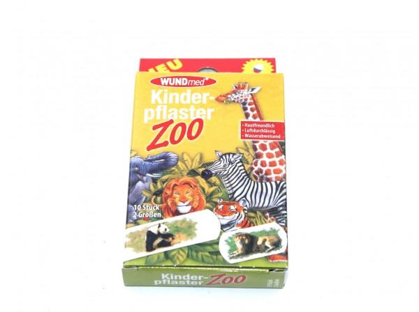 WUNDmed Kinderpflaster Zoo 10 Stück wasserabweisend