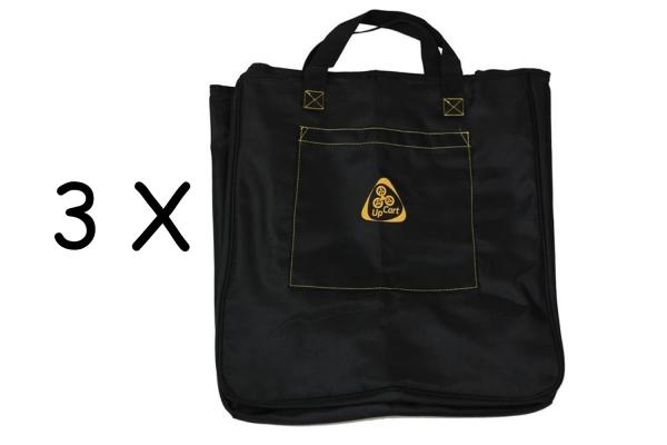 3 x Genius UpCart PRO Transporttasche XXL Einkaufstasche Shopper