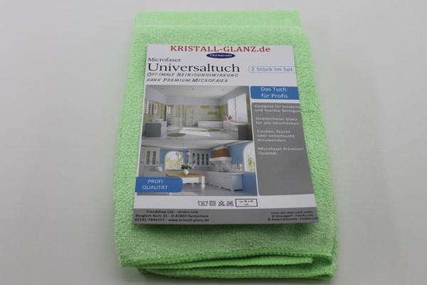 Kristall-Glanz Universaltücher Premium 2er grün