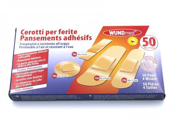 WUNDmed Wundpflaster wasserfest 50 Stück