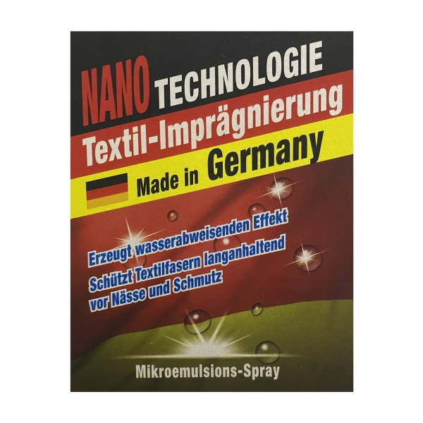 Nano-Textil-Imprägnierung 250ml - Made in Germany