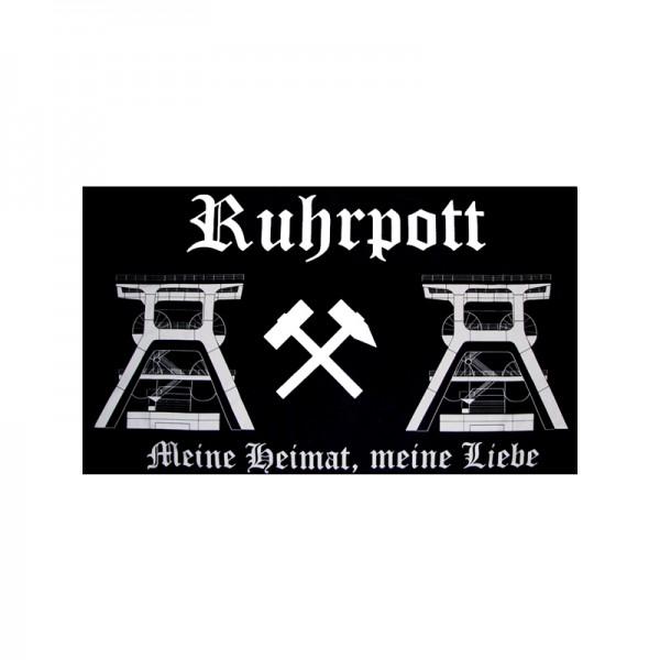 Ruhrpott Aufnäher / Patch Flagge