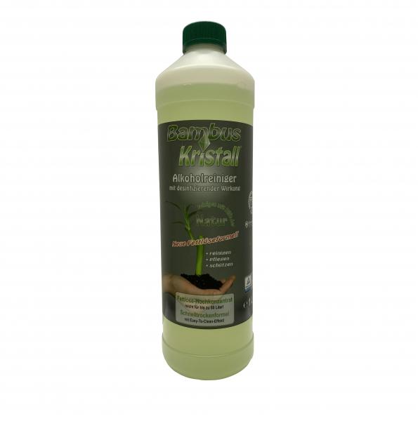 Bambus-Kristall Reiniger 1000ml - Hochleistungsreiniger mit Alkohol