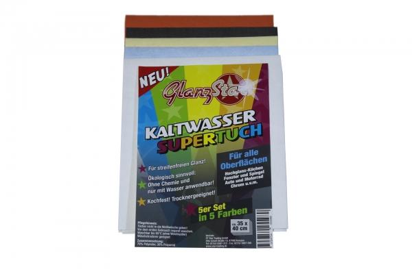Glanzstar Kaltwasser Supertuch 5er Set
