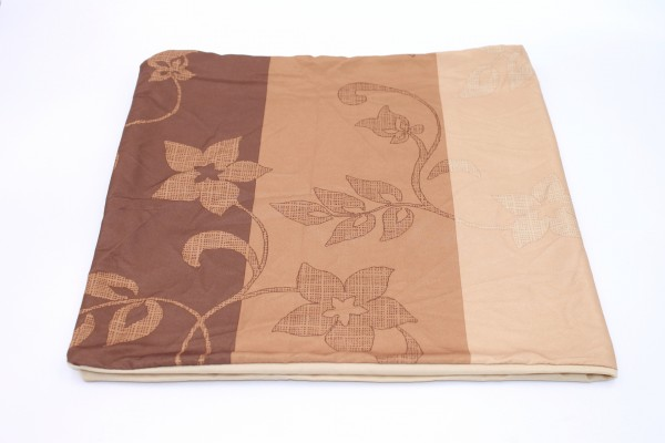 Bettwäsche Mikronesse 10tlg Set Ornament 135 x 200cm Peach Braun