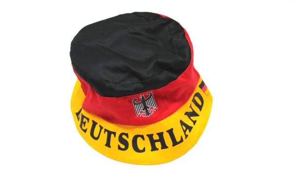 Deutschland Fanhut mit Wappen / Schriftzug