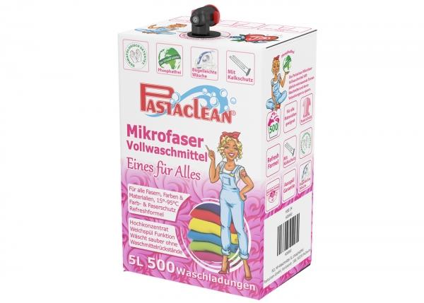 Pastaclean Mikrofaser Vollwaschmittel 5000ml