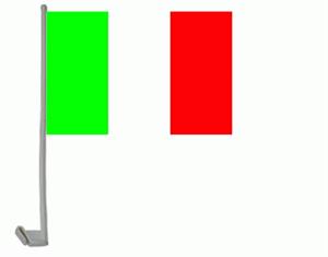 Italien Autofahne / Flagge - Premium