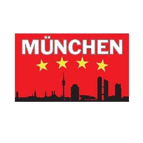 Bayern - München Silhouette Fahne (F63)