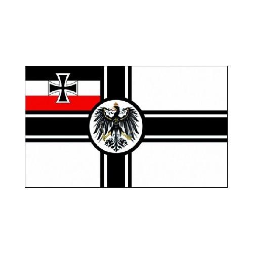 DR 15 - Kaiserliche Reichskriegsflagge / Marine Fahne