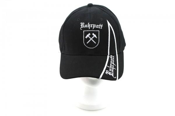 Ruhrpott Cap schwarz mit Schriftzug