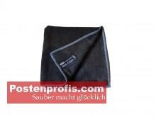 Microfaser Reinigungstuch 40 x 40 cm - schwarz